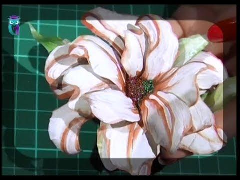 Объемный декупаж (3D). Создаём цветы в технике Sospeso Transparente. Мастер класс. Наташа Фохтина