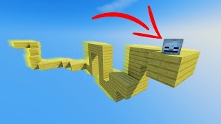 IMPOSSIBLE MINECRAFT PARKOUR!? IT MOVES!!!