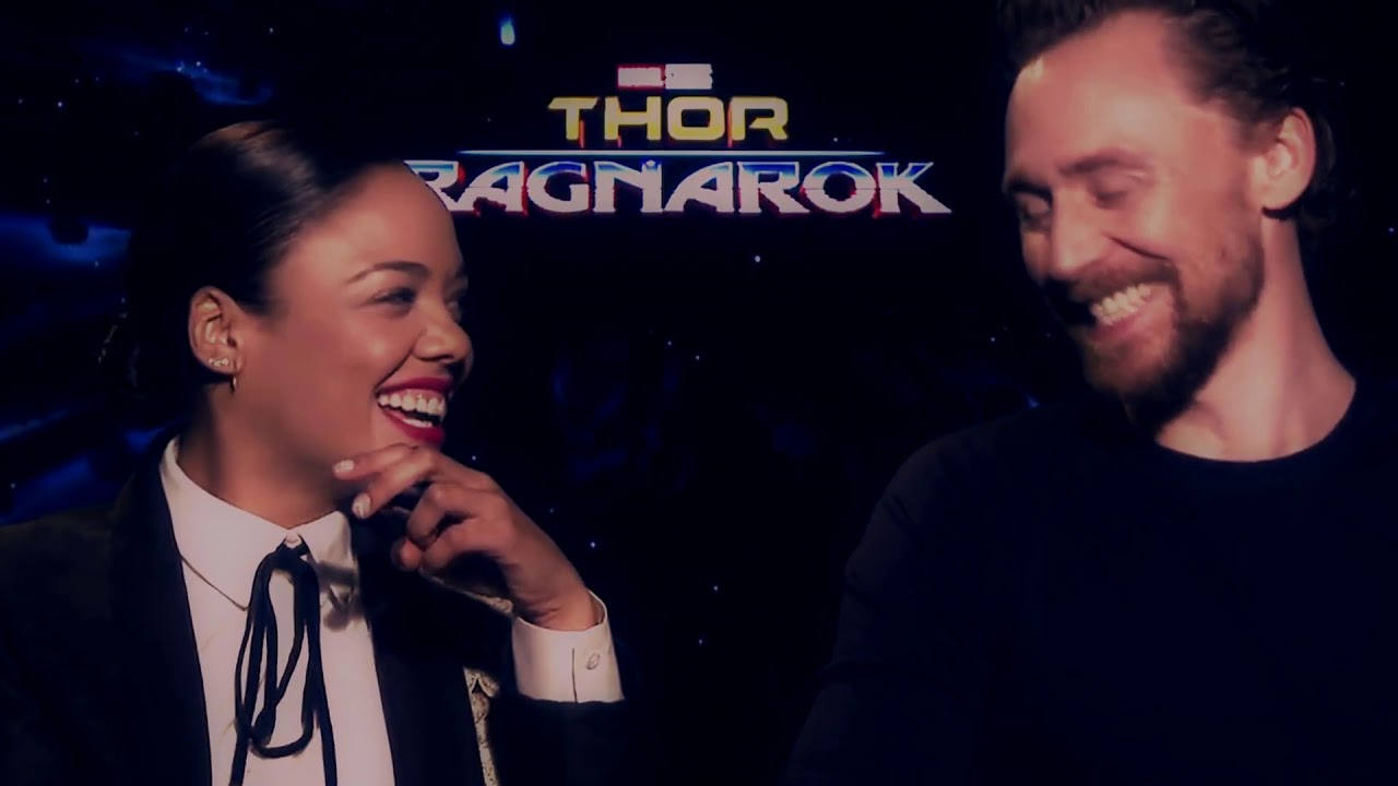 Tom Hiddleston & Tessa Thompson ~ edge of glory