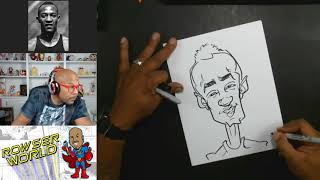 How To Draw a Caricature Jesse Owens