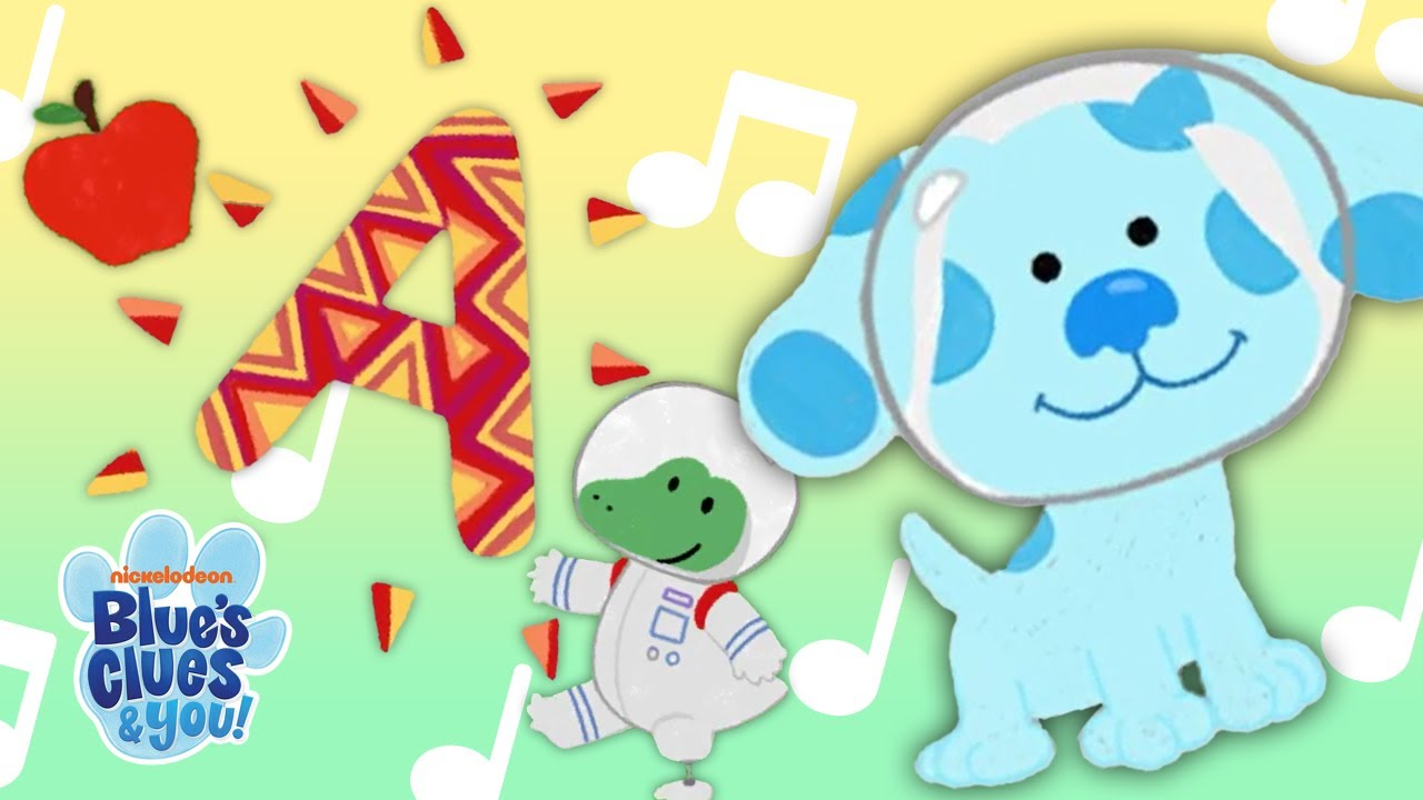 """Letter A Song"" with Blue! 