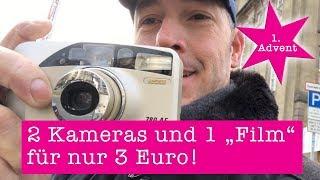 """Analoge Fotografie: 2 Kameras und einen """"Film"""" für 3 Euro ..."""