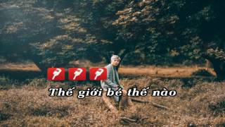 [ Karaoke + Lyrics ] Lạc nhau có phải muôn đời - Erik ST.319 - Beat full chuẩn