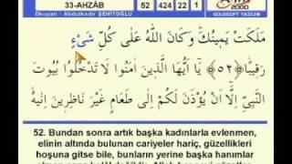 Abdulkadir Şehitoğlu - Ahzab 63/73
