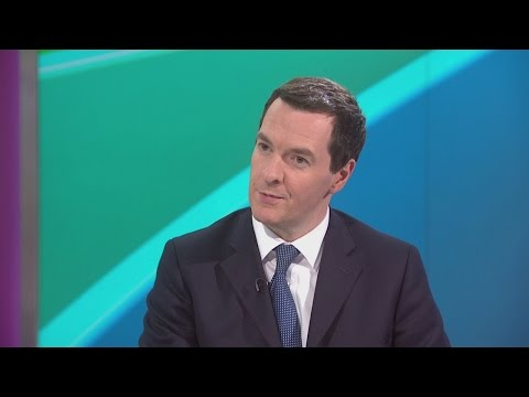 George Osborne quizzed on welfare cuts and Conservative tax