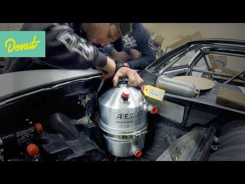 How to prevent blowing a motor: Dry Sump | Drift Corvette Build w/Matt Field