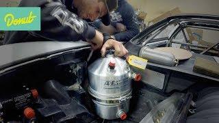 How to prevent blowing a motor: Dry Sump   Drift Corvette Build w/Matt Field thumbnail