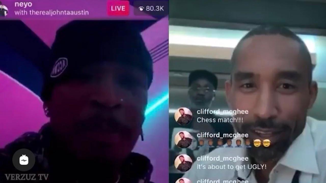 Insane IG Battle Of The HITS! R&B Producer Songwriters Neyo vs Johnta Austin