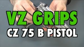 New VZ Grips for CZ 75 B