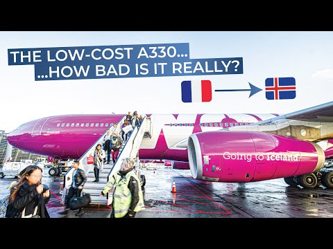TRIPREPORT |  WOW Air  | Airbus A330-300 | Paris CDG - Reykj