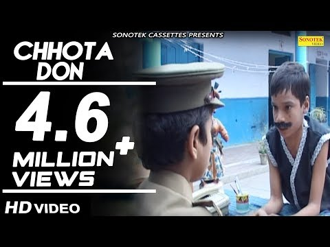 Chhota Don Part 2 Kids Movie Full Comedy Cute Acting   Haryanvi Kids Comedy   Sonotek New Comedy