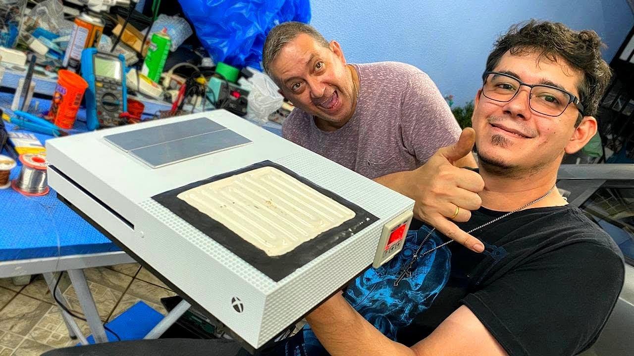 OLHA O QUE ESSE XBOX ONE S FAZ | VLOG!