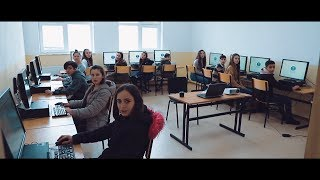 Humanity First donates computer lab to Kosovan school children