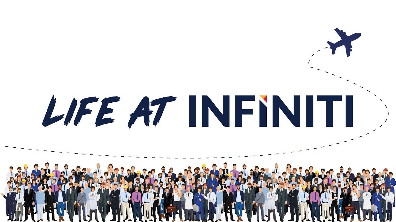Life at Infiniti—where unfettered genius meets fun