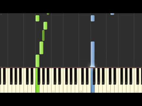 Super Mario 3D World - Main Theme Piano Tutorial