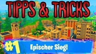 Tilted Towers Tipps & Tricks | Die Besten Tricks um zu überleben! | Fortnite Battle Royale