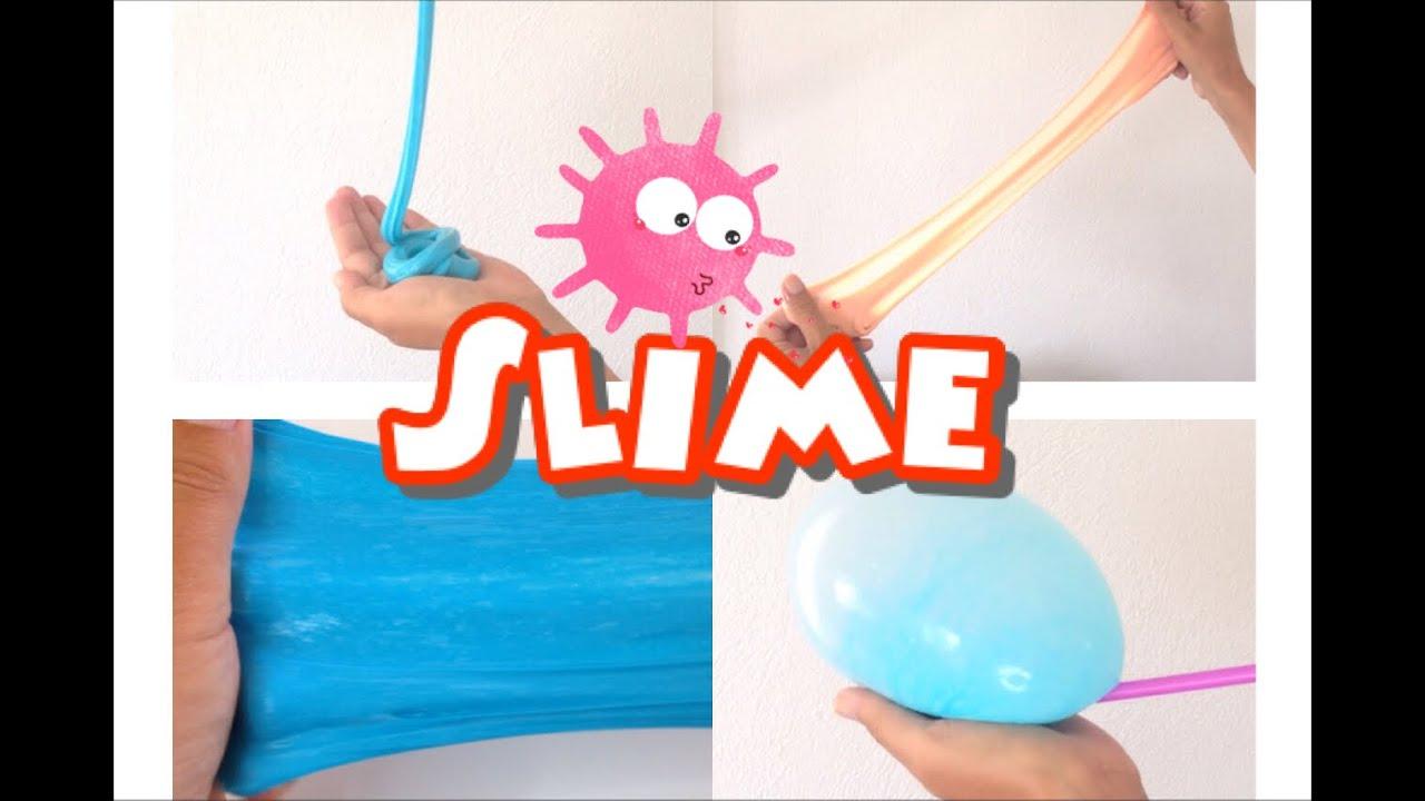 Diy Borakssiz Slime Yapimi No Borax Slime Youtube