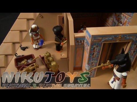[ASMR] Playmobil - Pyramide [4240] Toy Unboxing (No Speaking / Relaxing)