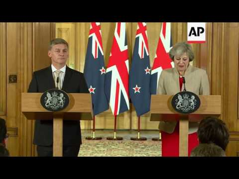 NZealand and UK PMs discuss Brexit
