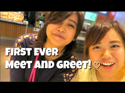 FIRST EVER MEET AND GREET | Megamall, Philippines