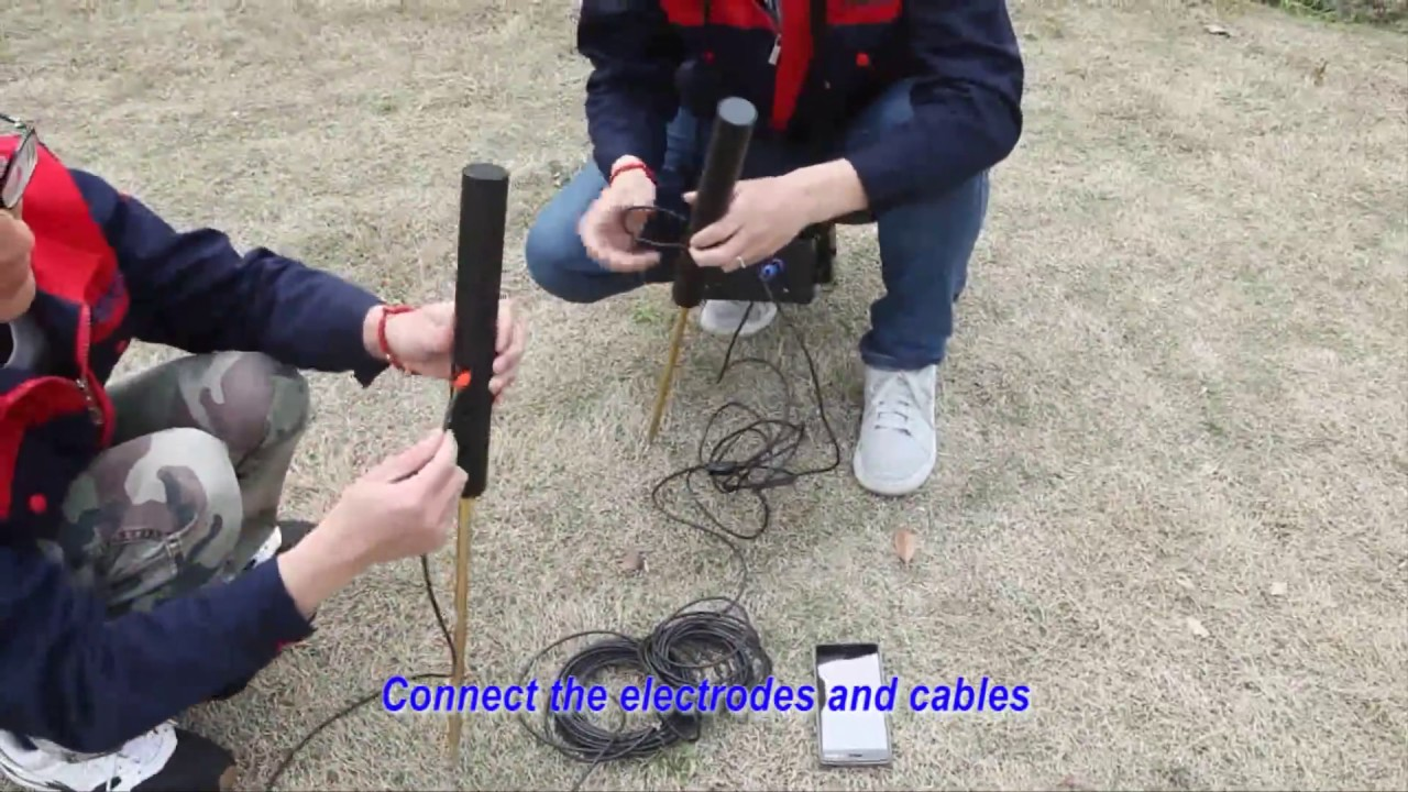 Mobile phone Underground Water Detection