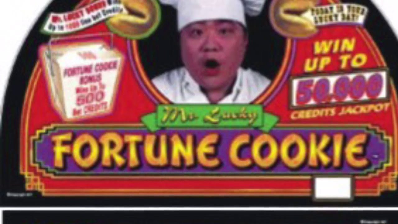 Mr Lucky Fortune Cookie Slot Machine