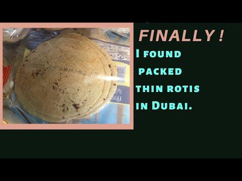 Life saver : Where to get packed rotis in Dubai ?