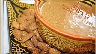 Amlou Recipe :moroccan Almond With Argan Oil Dip/املو - Pâte à Tartiner D'huile D'argan