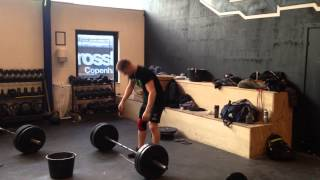 "Snatch: 80 x 2 reps by Philip ""The Gift"" Thun Bisgaard"