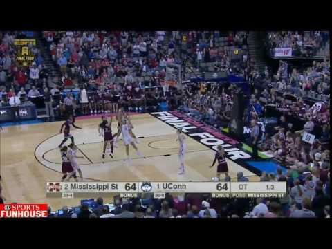Mississippi State Hits Game Winner Shot To Beat UConn