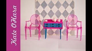 Мебель для кукол дёшево. Обзор деревянных заготовок для кукольной мебели.