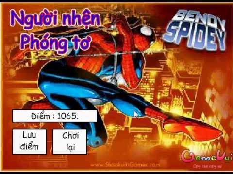 Game người nhện phóng tơ – siêu nhân nhện