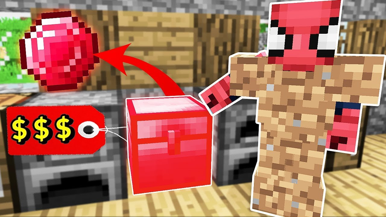 FAKİR'in 100.000 TL'lik GİZLİ RUBY SANDIĞI BULUNDU! 😱 - Minecraft