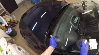 видео Вклейка лобового стекла своими руками: технология, время. Что нужно для вклейки лобового стекла?