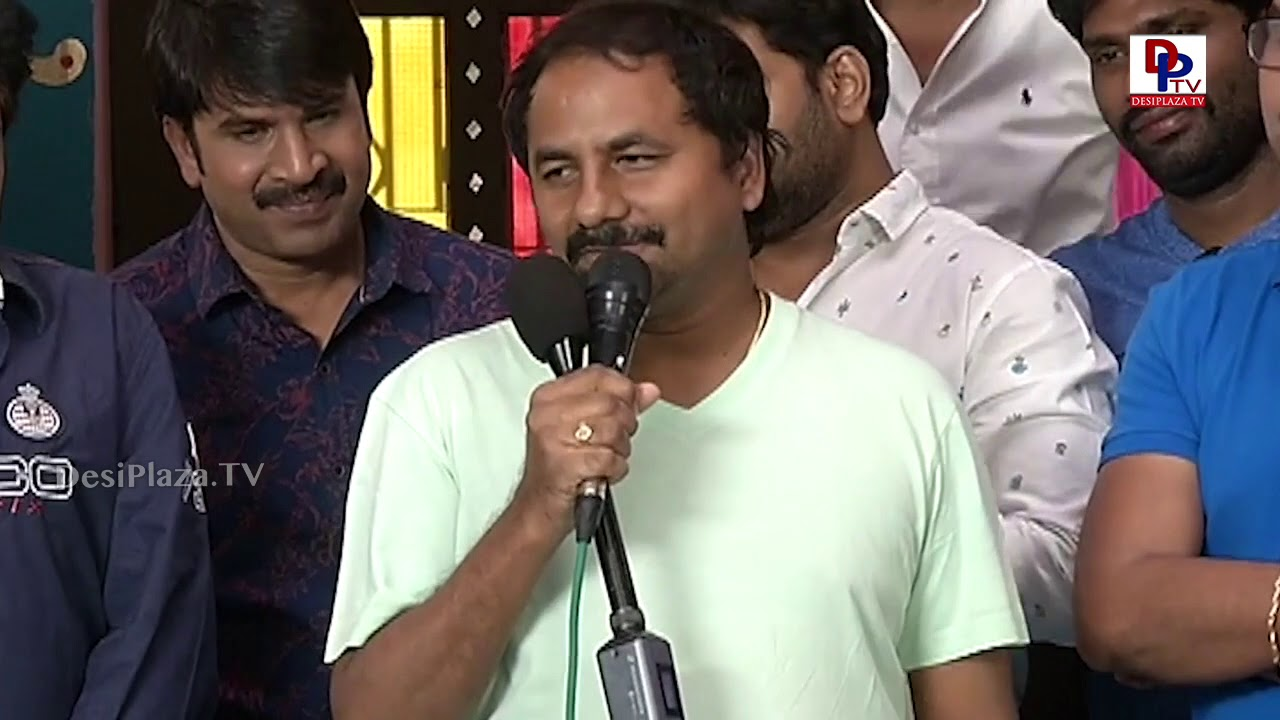 Jamba Lakidi Pamba movie logo launch | Director Maruthi, Srinivas Reddy, Brahmanandam, Ali | DPTV