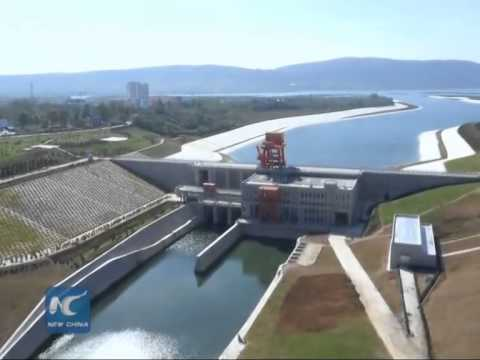 Drinking water supplied to thirsty north China via massive water diversion project