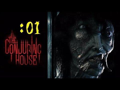 この幽霊屋敷は色々ヤバい【The Conjuring House】:01