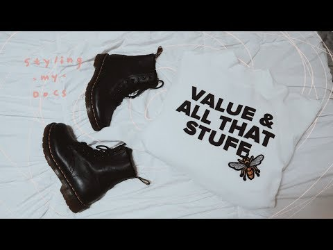 How to Style Dr. Martens | short girl guide