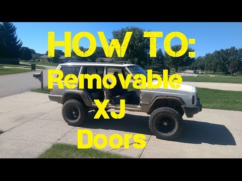 How to: Jeep XJ removable doors