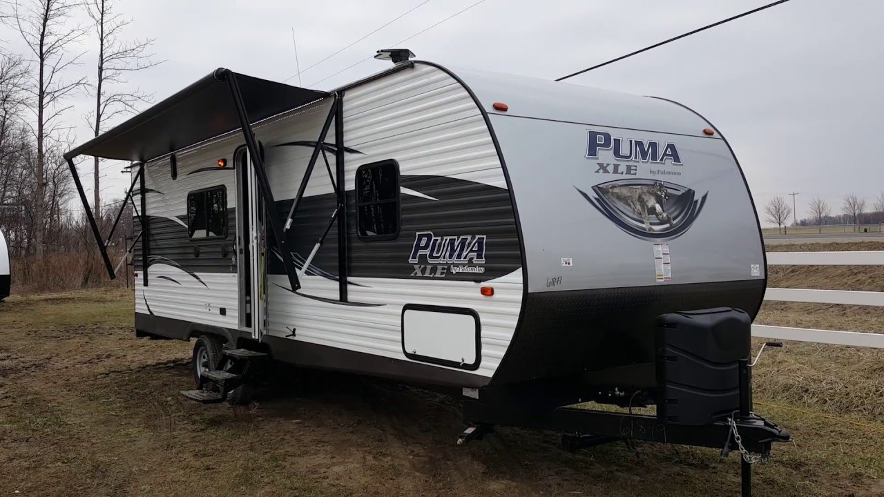 2017 puma travel trailer