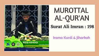 Top Hits -  Murottal Surat Ali Imran 198 Irama Kurdi