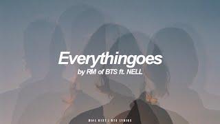 Everythingoes ft. NELL | RM (BTS - 방탄소년단) English Lyrics