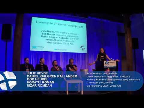 Panel: Learnings In VR Game Development