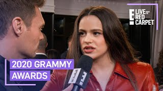 Rosalía Reacts to Historic Grammy Win | E! Red Carpet & Award Shows