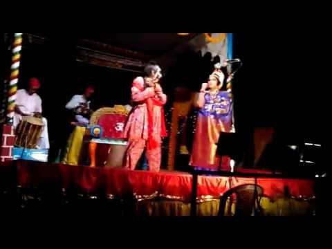 Yakshagana mandarthi Mela Annappa shiror  Malini dutha