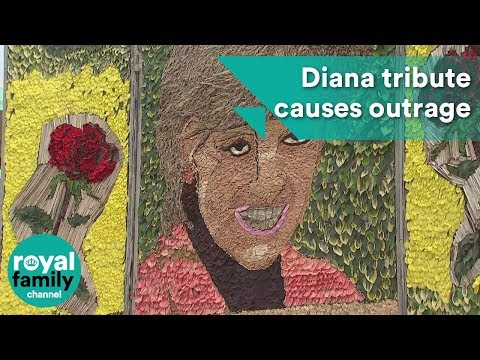 'It's an insult': Princess Diana tribute causes local outrage
