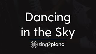 Dancing in the Sky (Piano Karaoke Instrumental) Dani and Lizzy