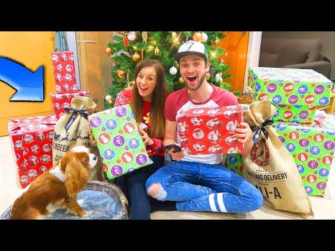 Download Youtube: OPENING CHRISTMAS PRESENTS... EARLY!