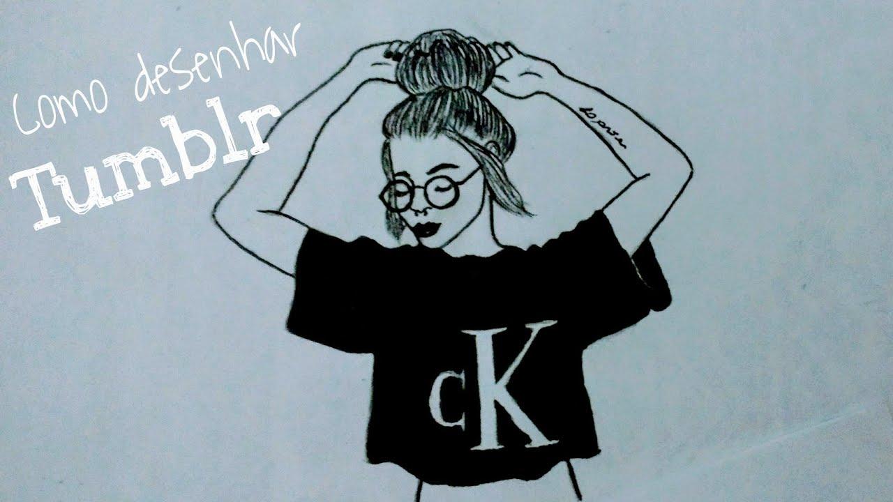 Desenhos Tumblrs Menina Tumblr Desenho E Desenhos De Meninas