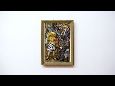 Stanley Spencer - The Woolshop - Tate Britain - London - January 2017